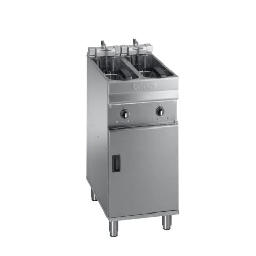 Valentine evo 2200t - turbo twin pan fryer