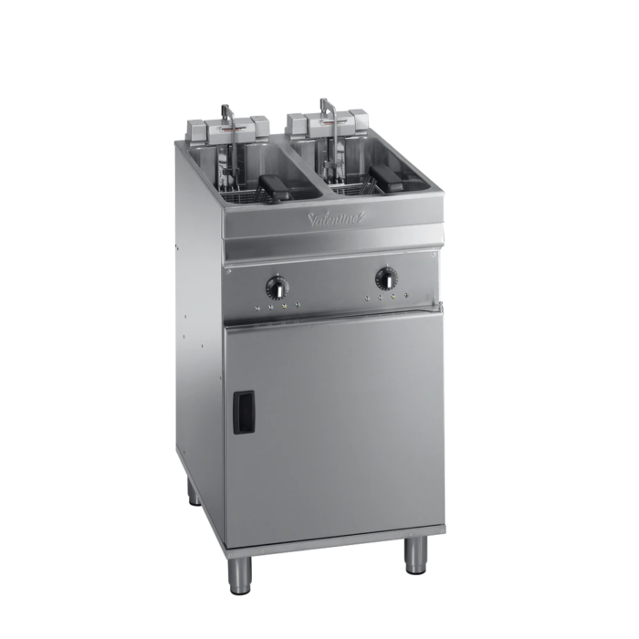 Valentine evo 2525t - turbo twin pan fryer