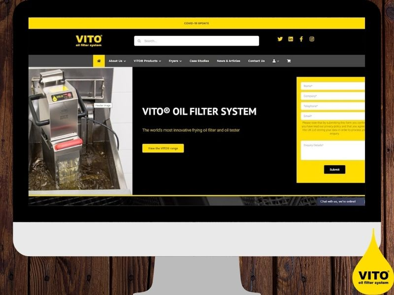 Vito uk website launch featured image