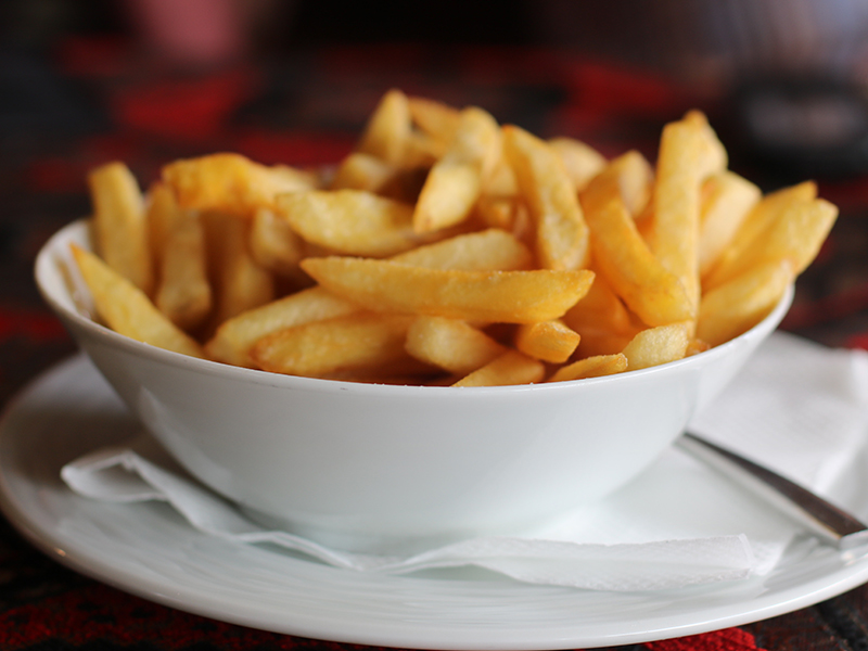 The secret of perfectly fried chips